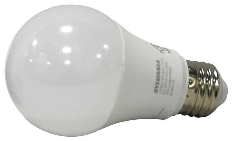 SYLVANIA - BULB - 74084 LED 6W/40W A19 5K 4PK - HOME IMPROVEMENT OUTLET