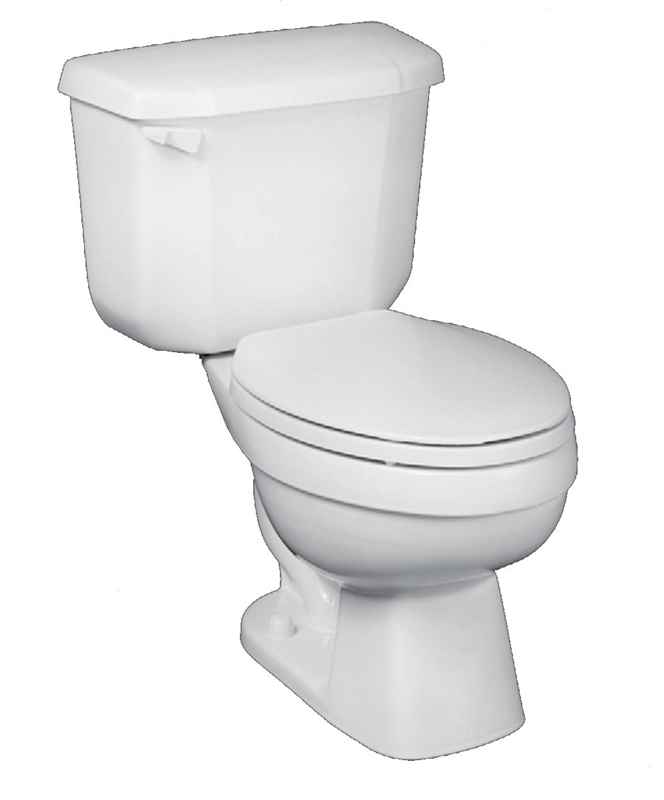 TOILET - JOHN-IN-A-BOX ADA ELONGATED BOWL CHINA WHITE - HOME IMPROVEMENT OUTLET