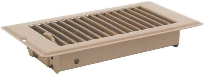 "REGISTER - V-0561B 4X8 BROWN 1-5/16""DPTH - HOME IMPROVEMENT OUTLET"